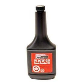 Honda 08213-10W30 Automotive Engine Oil, 12 oz Bottle, Amber/Transparent