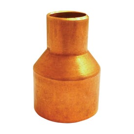EPC 101R Series 30716 Reducer Coupler with Stop, 3/4 x 1/2 in, Sweat