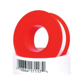 IPG 017117-500 Thread Seal Tape, PTFE, Red/White