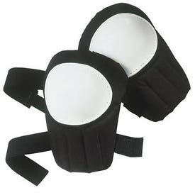 IRWIN 4033014 Knee Pad, One-Size Fits All, Closed-Cell Foam Cap, Plastic Pad, 2 -Strap, Strap Closure