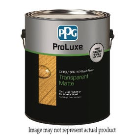 PPG Proluxe Cetol SRD RE SIK250-045/01 Wood Finish, Matte, Mahogany, Liquid, 1 gal, Can