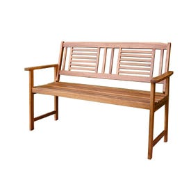 Living Accents 8325243 Garden Bench, 51-1/2 in W, 35.8 in H, Wood Frame