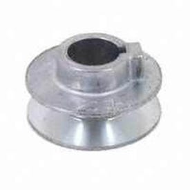 CDCO 250A-3/4 V-Grooved Pulley, 2-1/2 in OD, 2-1/4 in Dia Pitch, 1/2 in W x 11/32 in Thick Belt, Zinc