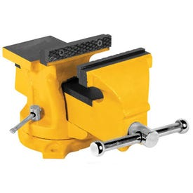 Performance Tool MV5 Machinist Vise, 5 in Jaw Opening, 5 in W Jaw, 2-3/8 in D Throat, Iron