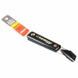 ALLWAY TOOLS GT 2-in-1 Putty Knife, Carbon Steel Blade, Nylon Handle, 9-1/2 in OAL