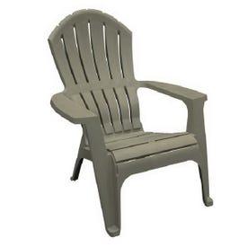RealComfort Adirondack Chair, Gray