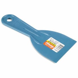 ALLWAY TOOLS DS30V Adhesive Spreader, Notched Blade, Plastic Blade, Plastic Handle, 3 in OAL