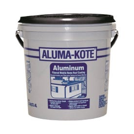 JETCOAT 65201 Roof and Mobile Home Coating, 0.9 gal Pail, Liquid