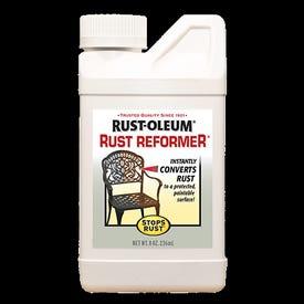 RUST-OLEUM STOPS RUST 7830730 Rust Reformer, Liquid, Solvent-Like, Clear, 8 oz