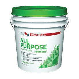 USG Sheetrock 380501 Joint Compound, Paste, Off-White, 4.5 gal