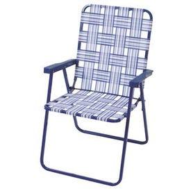 Rio Brands High Back Folding Web Chair