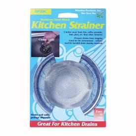 Whedon DP20C Sink Strainer with Ring, Stainless Steel