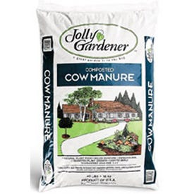 Jolly Gardener Products Composted Cow Manure 40Lb