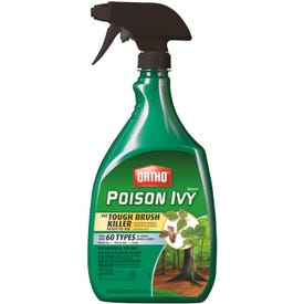 Ortho 0475010 Poison Ivy and Tough Brush Killer, Liquid, 24 oz Bottle