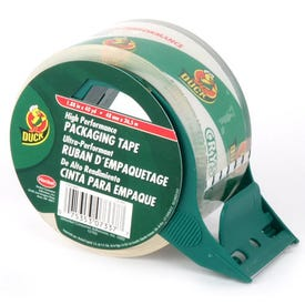 Duck HD Clear 281012 Packing Tape, 40 yd L, 1.88 in W, Clear