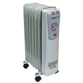 Oil-Filled Radiator Style Electric Heater