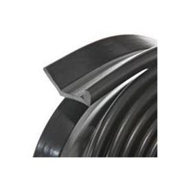 Frost King G9H Garage Door Bottom Kit, 2-1/4 in W, 9 ft L, Rubber, Black