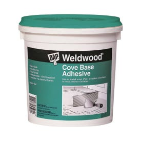 DAP 25053 Construction Adhesive, Off-White, 1 qt Can