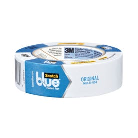 ScotchBlue 2090-36A Painter''''s Tape, 60 yd L, 1.41 in W, Crepe Paper Backing, Blue