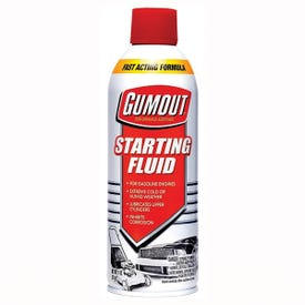 Gumout 5072866 Starting Fluid, Ethereal Strong, 11 oz Aerosol Can