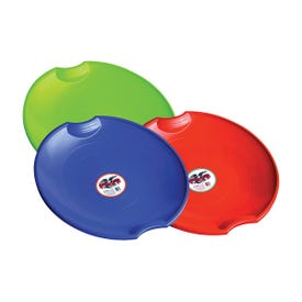 Paricon 626 Flying Saucer, 4-Years Old and Up Capacity, Plastic, Blue/Lime Green/Orange