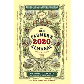Old Farmers Almanac Book