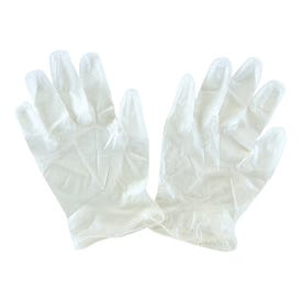 Prosource PVG-10P Latex-Free Disposable Gloves, One-Size, Vinyl