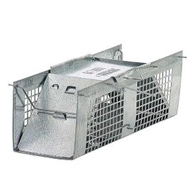 GENUINE VICTOR 1020 Animal Trap, 3 in W, 3 in H, Gravity-Action Door