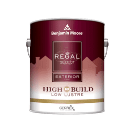 Benjamin Moore® Regal® Select Exterior High Build Paint Low Lustre White RM Gallon