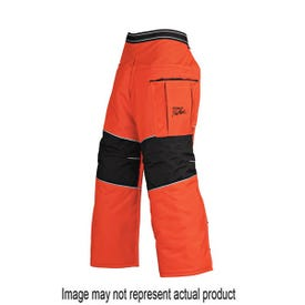 STIHL Pro Mark 0000 886 3905 Apron Chap, 36 to 40 in Waist, 36 in L, Orange