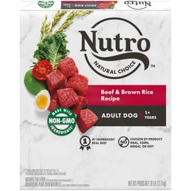 NUTRO™ NATURAL CHOICE™ Adult Beef & Brown Rice Recipe 28LB