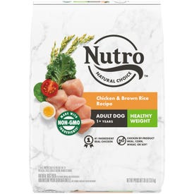 NUTRO™ NATURAL CHOICE™ Healthy Weight Adult Chicken & Brown Rice Recipe 30LB