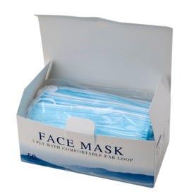 Face Mask 3-Ply Box/50