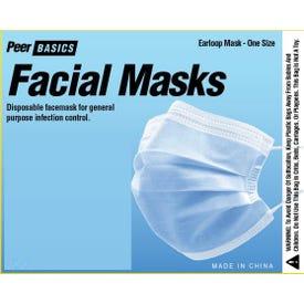 Face Mask 3 Ply Fda Cert 5/Pk