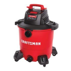 CRAFTSMAN 009-17590 Wet/Dry Vacuum, 9 gal Vacuum, 71.1 cfm Air, Cartridge Filter, 4.25 hp, 120 V