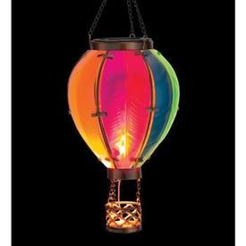Hot Air Balloon Solar Lantern SM - Rainbow