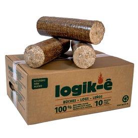 LOGIK-E Compressed Logs  10/BOX