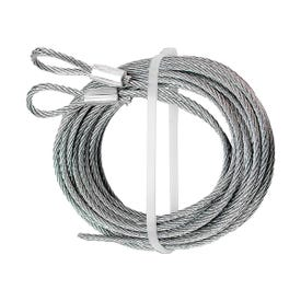 Prime-Line GD 52101 Aircraft Cable, 3/32 in Dia, 12 in L, Carbon Steel, Galvanized