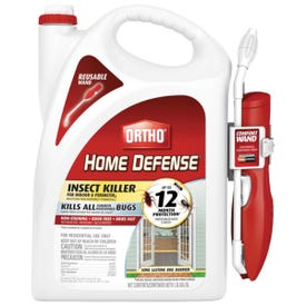 Ortho Home Defense 0220910 Insect Killer with Comfort Wand, Liquid, Spray Application, 1.1 gal Bottle