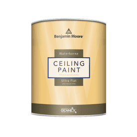 Benjamin Moore® Waterborne Ultra Flat Interior Latex Ceiling Paint RM White Gallon