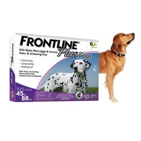 FRONTLINE Plus 011-63904 Flea and Tick Topical Treatment