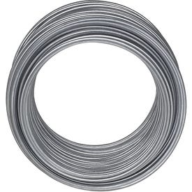 National Hardware V2568 Series N264-762 Wire, 0.0475 in Dia, 110 ft L, 18 Gauge, 50 lb Working Load, Galvanized Steel