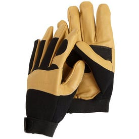 Carhartt The Dex Mens Leather Gloves Large Brown