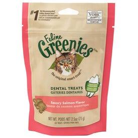 Greenies Feline Dental Treat 2.5 oz Salmon