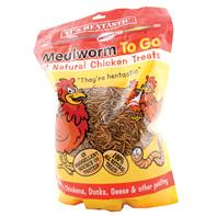 Hentastic HEP02 Dried Mealworms, Treat, 17.6 oz Pack