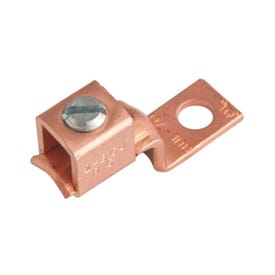 GB GSLU-35 Mechanical Lug, 600 V, 14 to 10 AWG Wire, 3/8 in Stud, Copper Contact