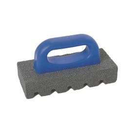 Marshalltown 840 Rubbing Brick, 1 in Thick Blade, 20 Grit, Silicone Carbide Abrasive