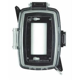 HUBBELL MM410C Cover, 5-1/2 in L, 4 in W, Polycarbonate, Clear