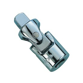 Vulcan MT6480545 Universal Joint, 1/4 in Drive, Female, Male Drive, Chrome/Polished Mirror