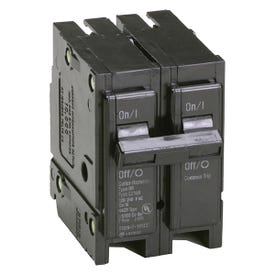 Cutler-Hammer BR2100 Circuit Breaker, Miniature, Type BR, 100 A, 2-Pole, 120/240 V, Thermal Magnetic Trip